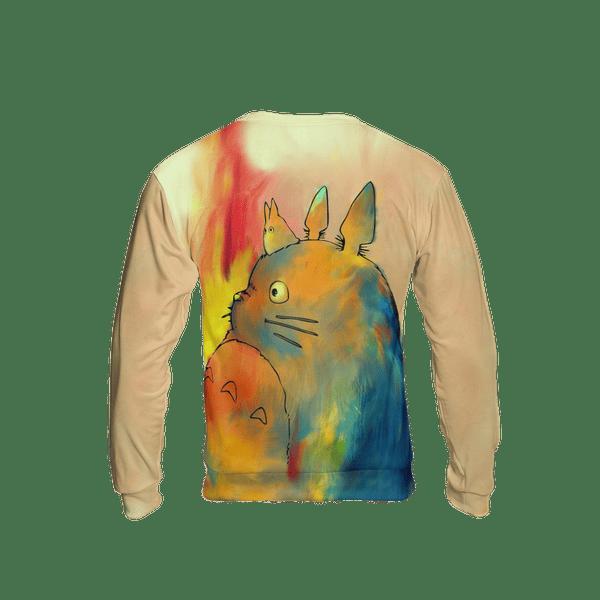 Totoro Colorful 3D Sweatshirt