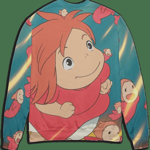 Ponyo Freedom 3D Sweater
