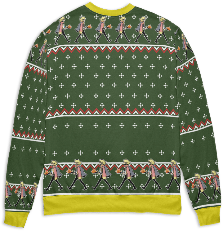 Howl's Moving Castle – The Fire is So Delightful Ugly Christmas Sweater