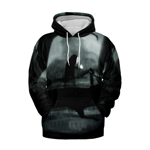 No Face and Limbo 3D Hoodie