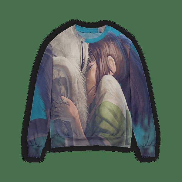 Spirited Away Chihiro and Haku Dragon 3D Sweater