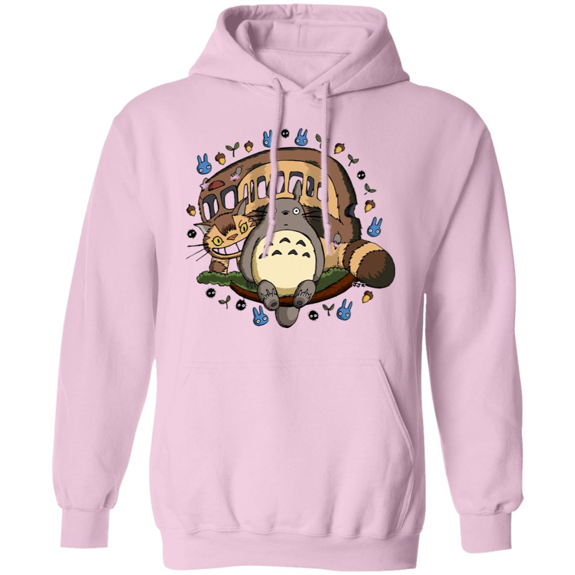 Totoro and the Catbus Hoodie