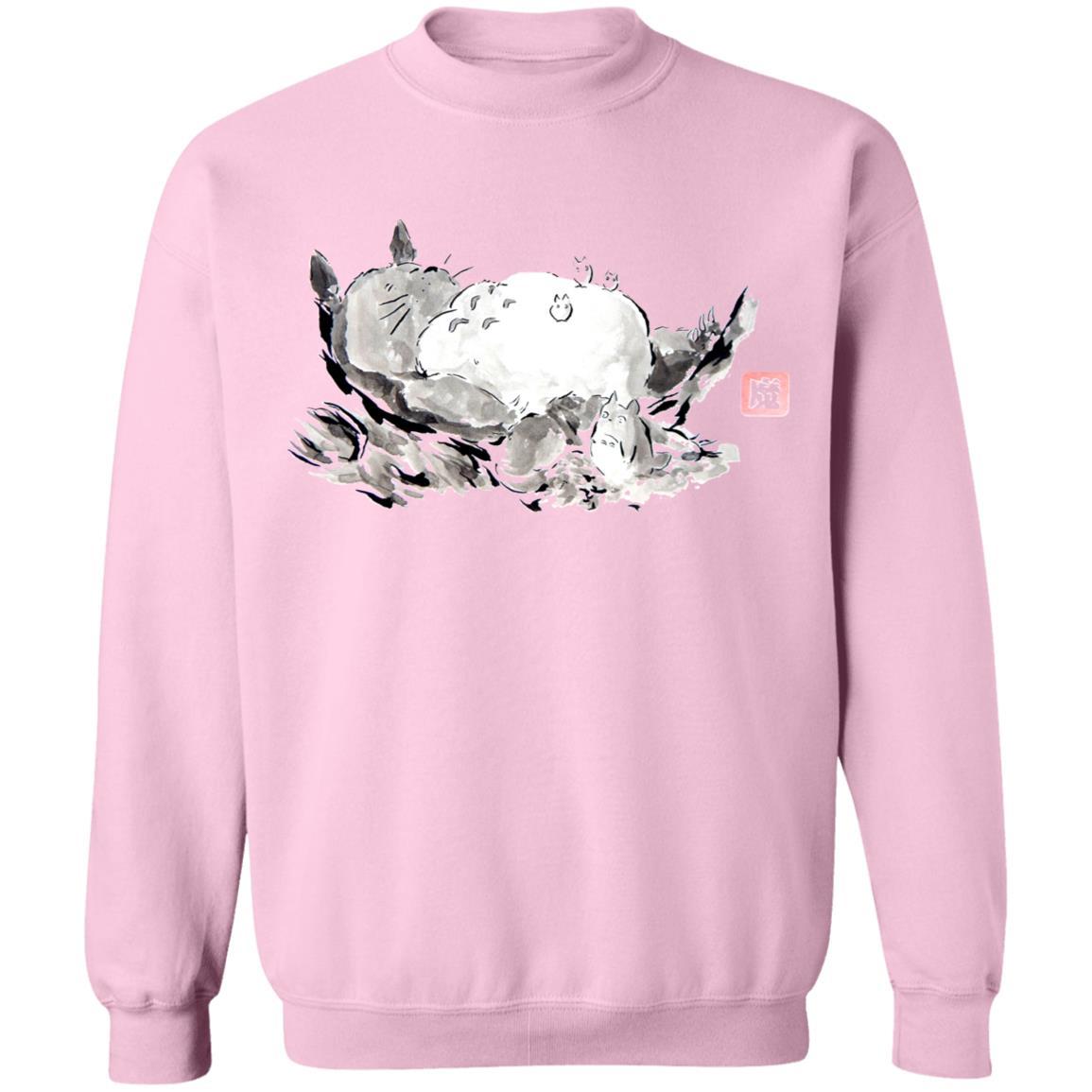 Sleeping Totoro ink Painting Sweatshirt