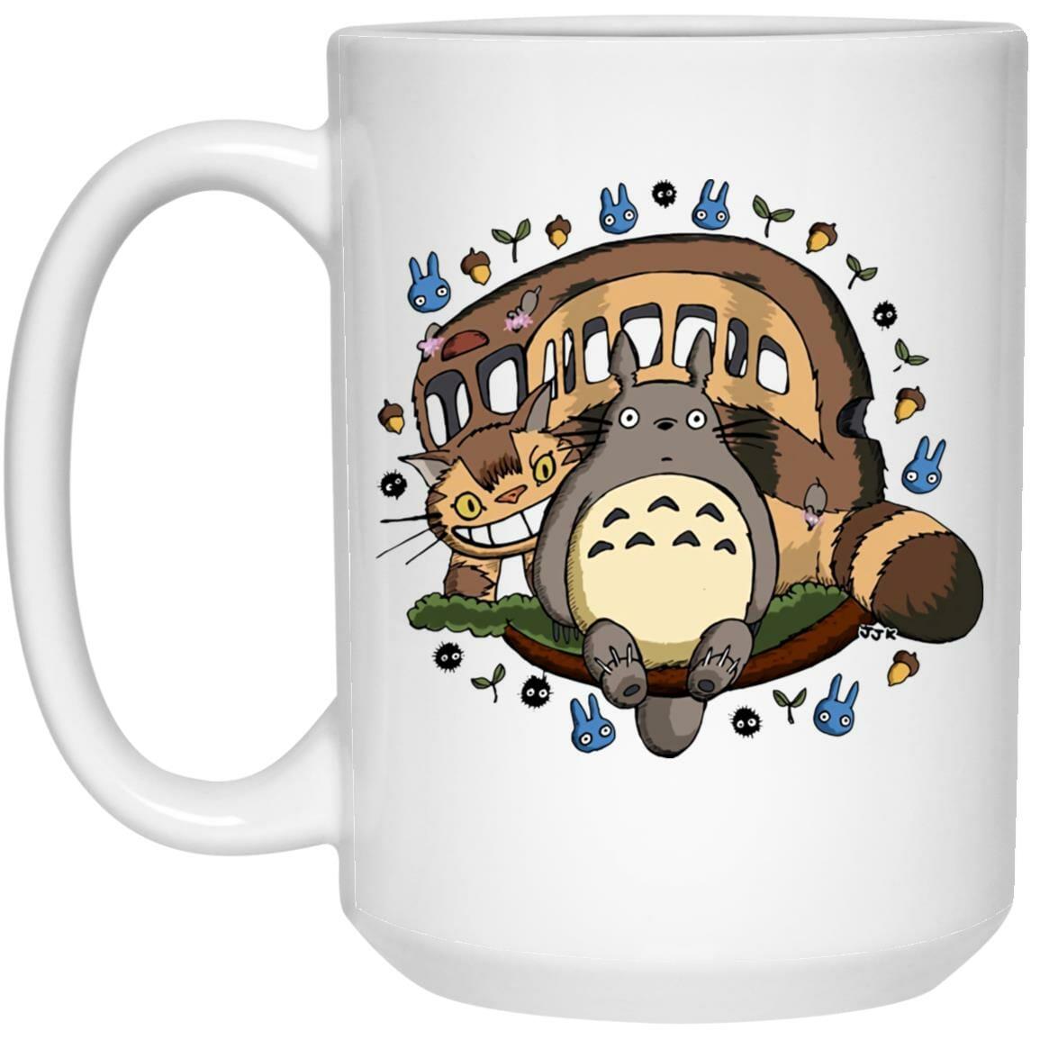 Totoro and the Catbus Mug