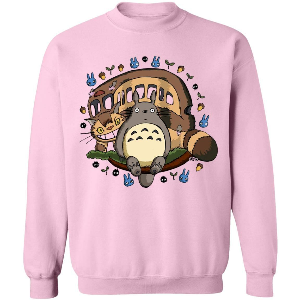 Totoro and the Catbus Sweatshirt