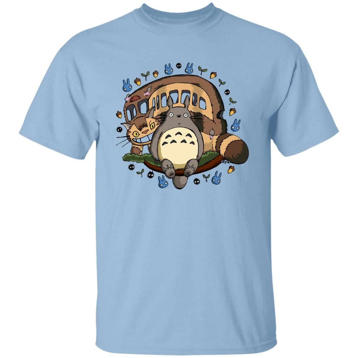 Totoro and the Catbus T Shirt