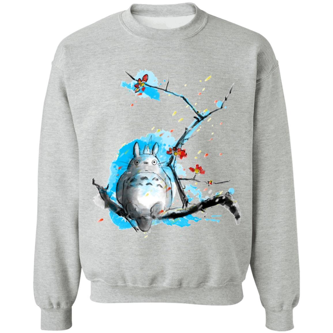 Totoro by Sakura and Blue Sky Sweatshirt