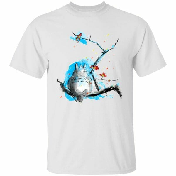 Totoro by Sakura and Blue Sky T Shirt