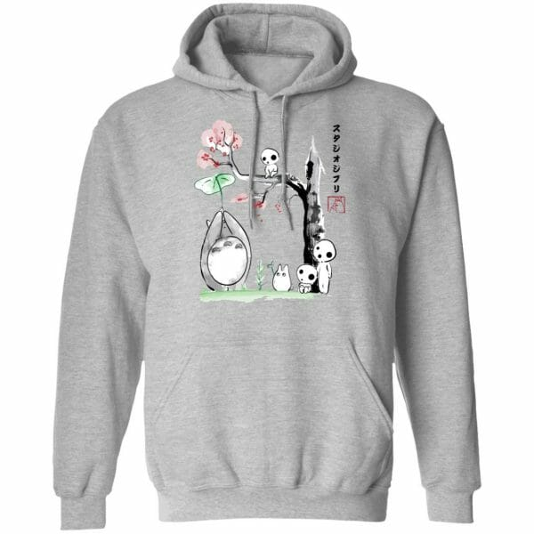 Totoro and the Tree Spirits Sweatshirt