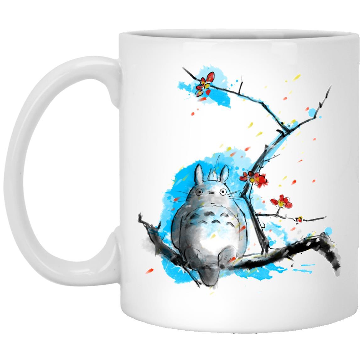 Totoro by Sakura and Blue Sky Mug