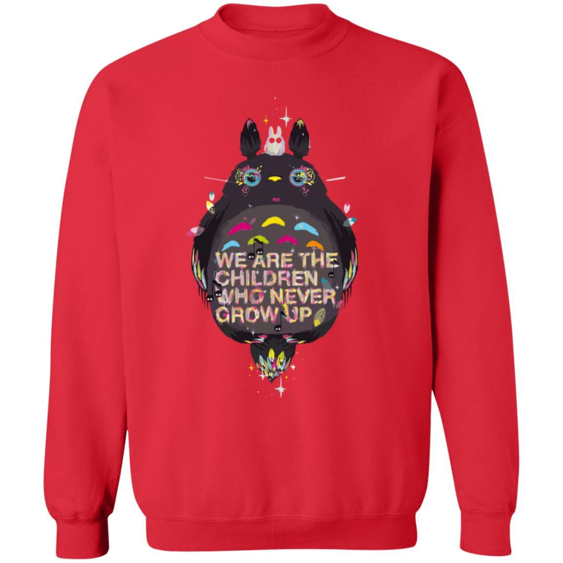 Totoro – Never Grow Up Sweatshirt