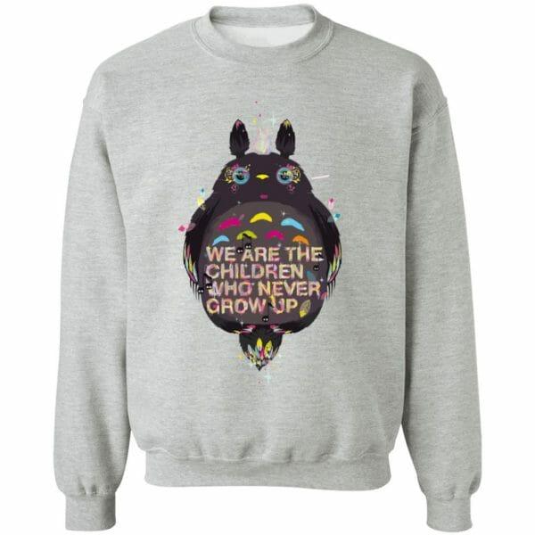 Totoro – Never Grow Up Hoodie