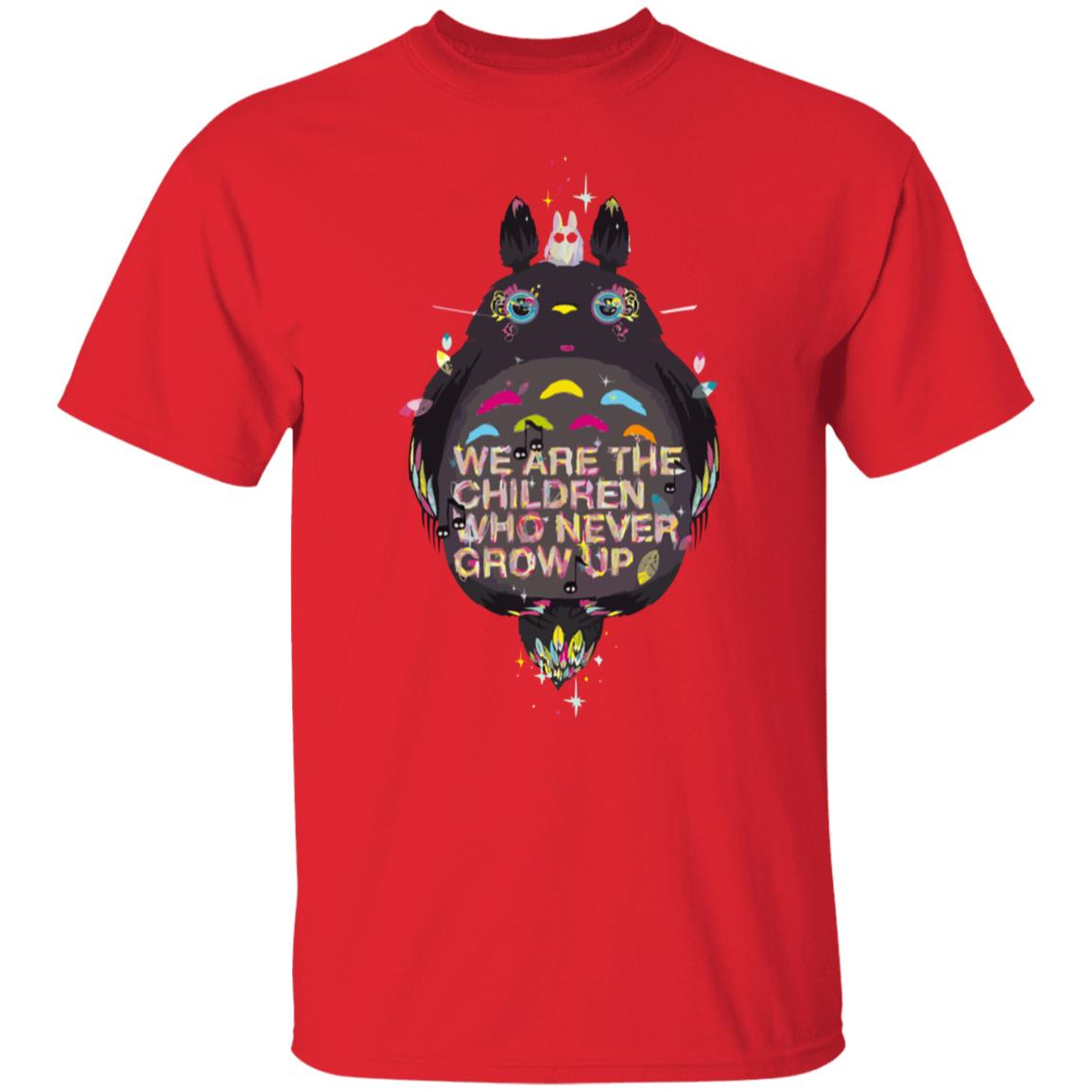 Totoro – Never Grow Up T Shirt