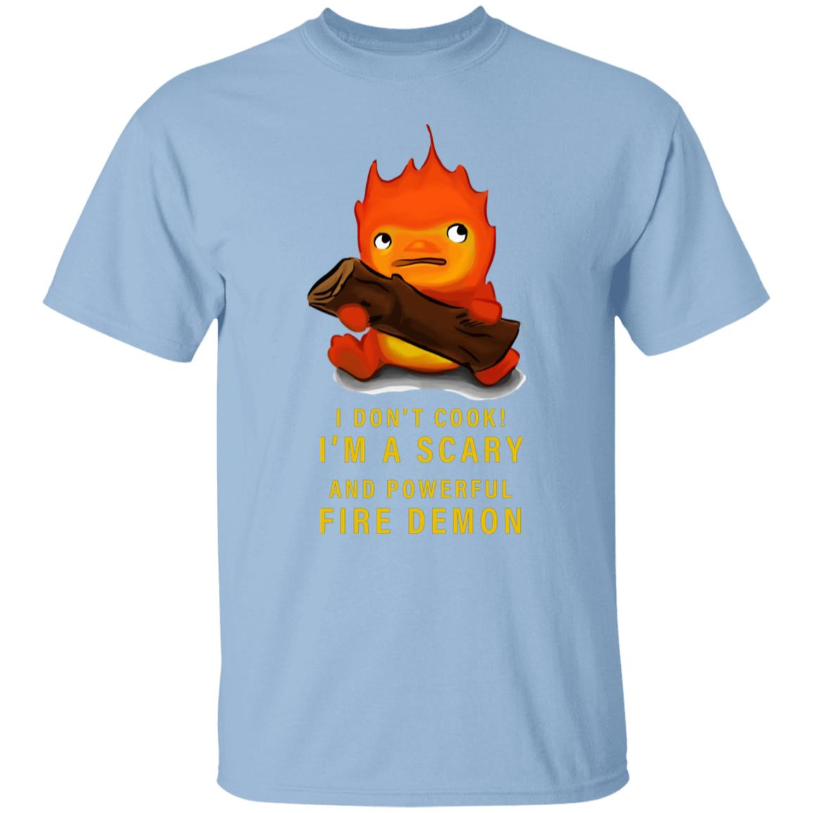 Howl's Moving Castle Calcifer T Shirt