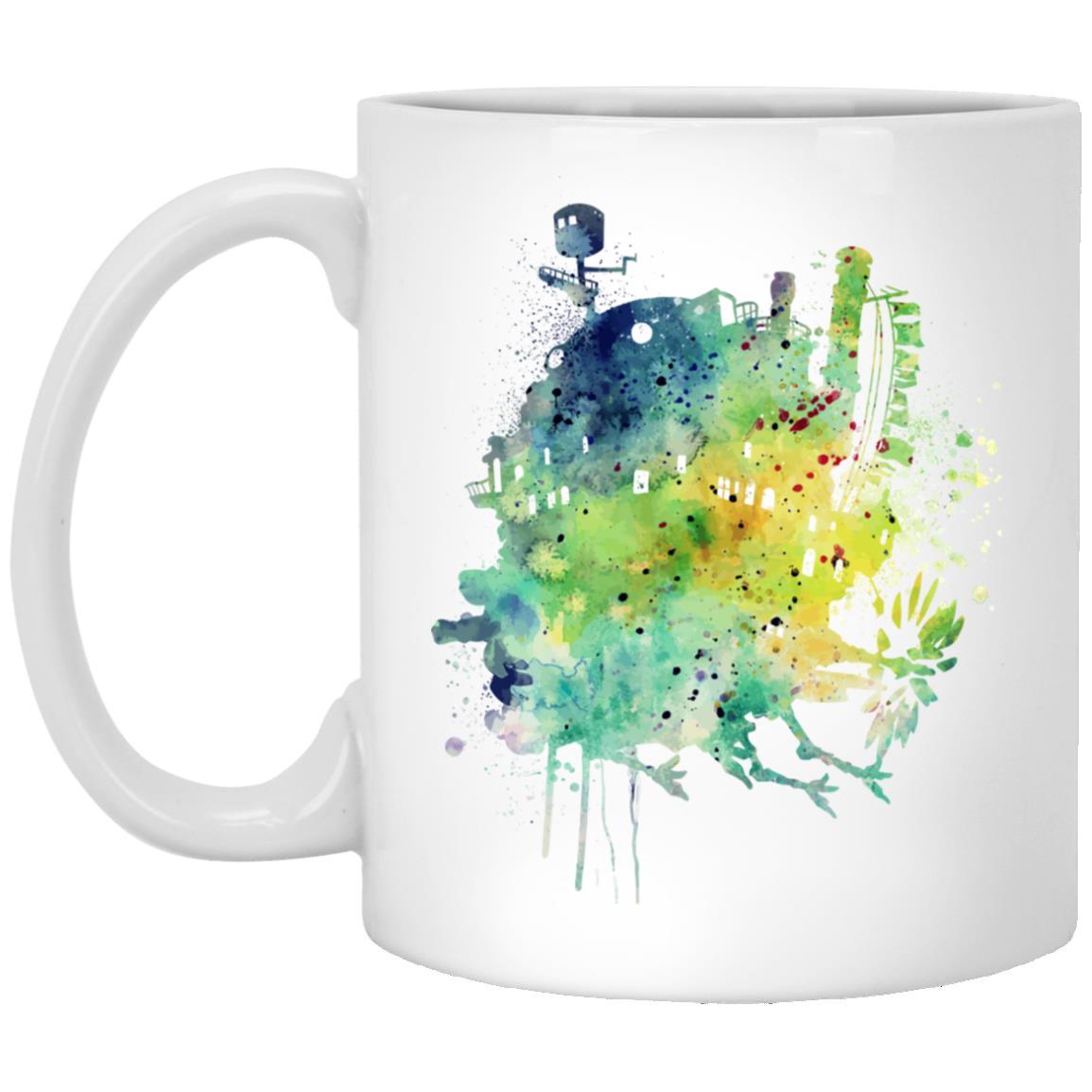 Howl's Moving Castle Colorful Castle Mug
