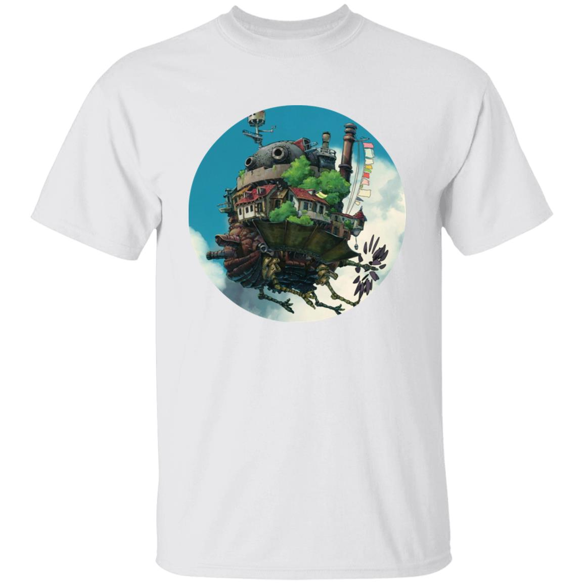 Howl's Moving Castle – Flying on the Sky T Shirt