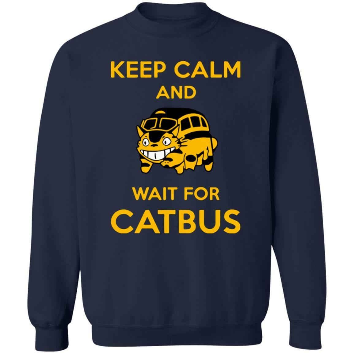 My Neighbor Totoro Keep Calm and Wait for Cat Bus Sweatshirt