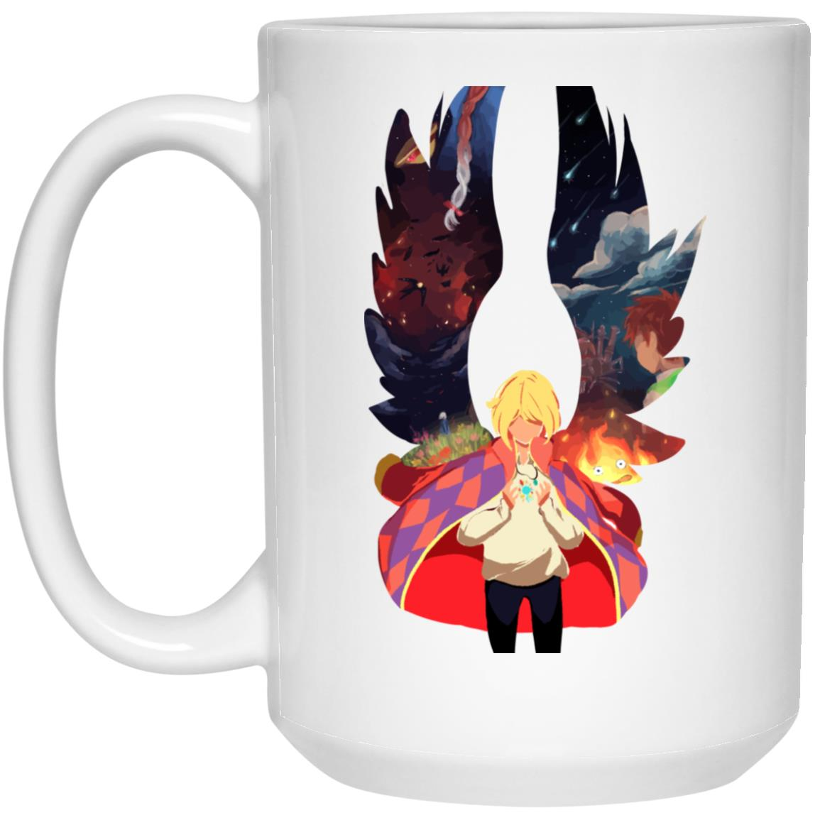 Howl and Colorful Wings Mug