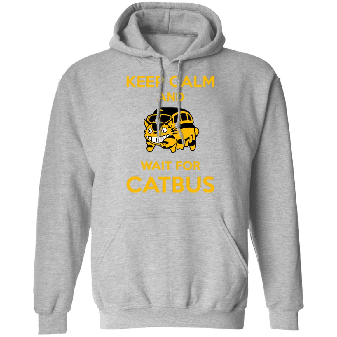 My Neighbor Totoro Keep Calm and Wait for Cat Bus Hoodie