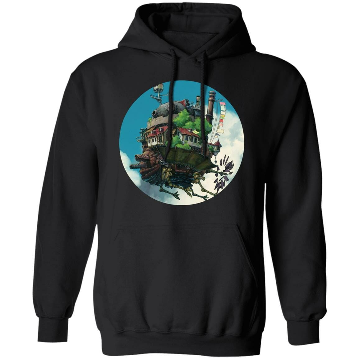 Howl's Moving Castle – Flying on the Sky Hoodie
