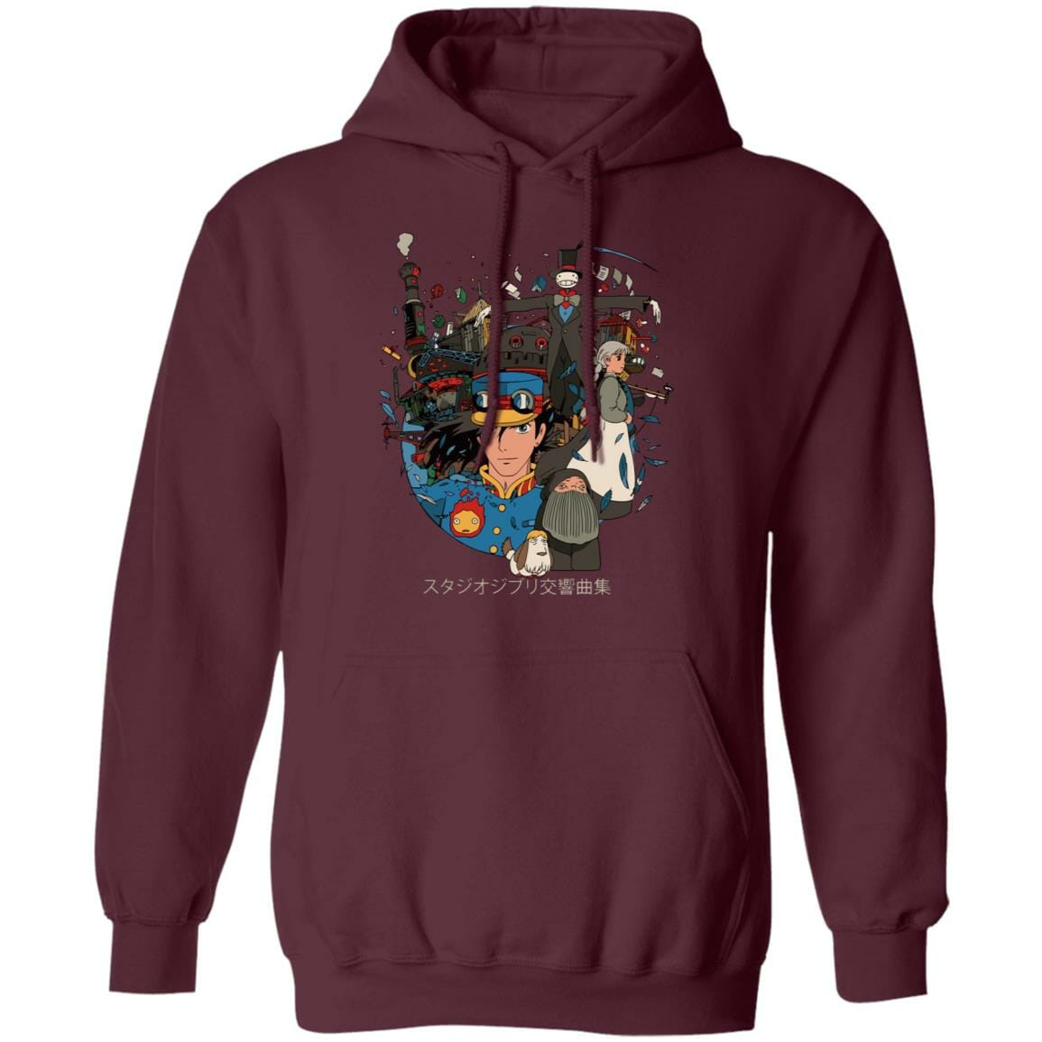 Howl's Moving Castle Characters Compilation Hoodie