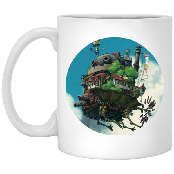 Howl's Moving Castle Characters Compilation Mug
