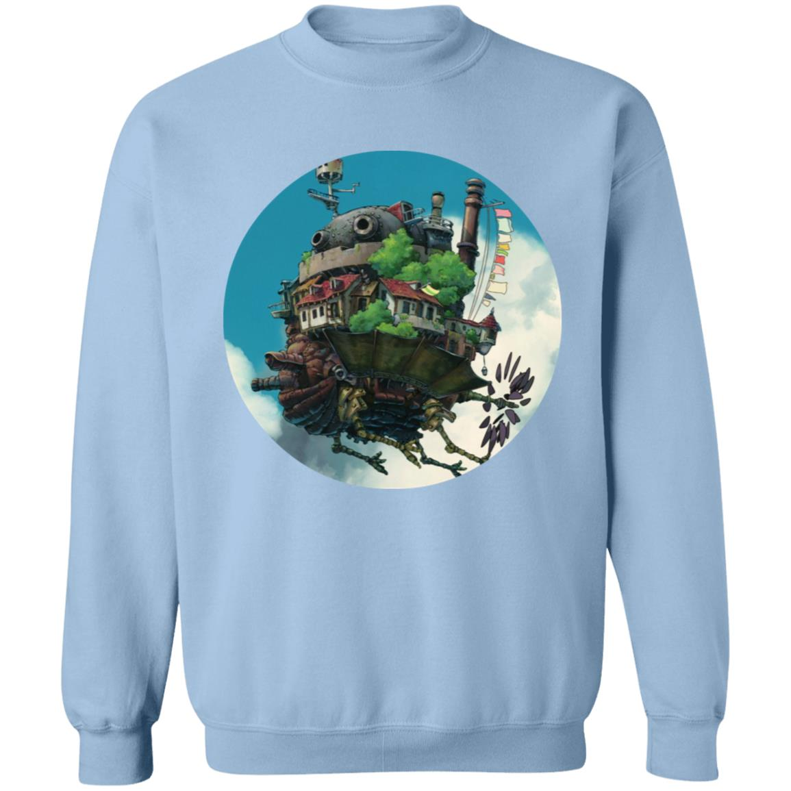 Howl's Moving Castle – Flying on the Sky Sweatshirt