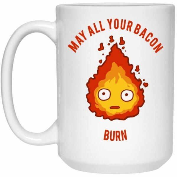 Calcifer: May All Your Bacon Burn Mug