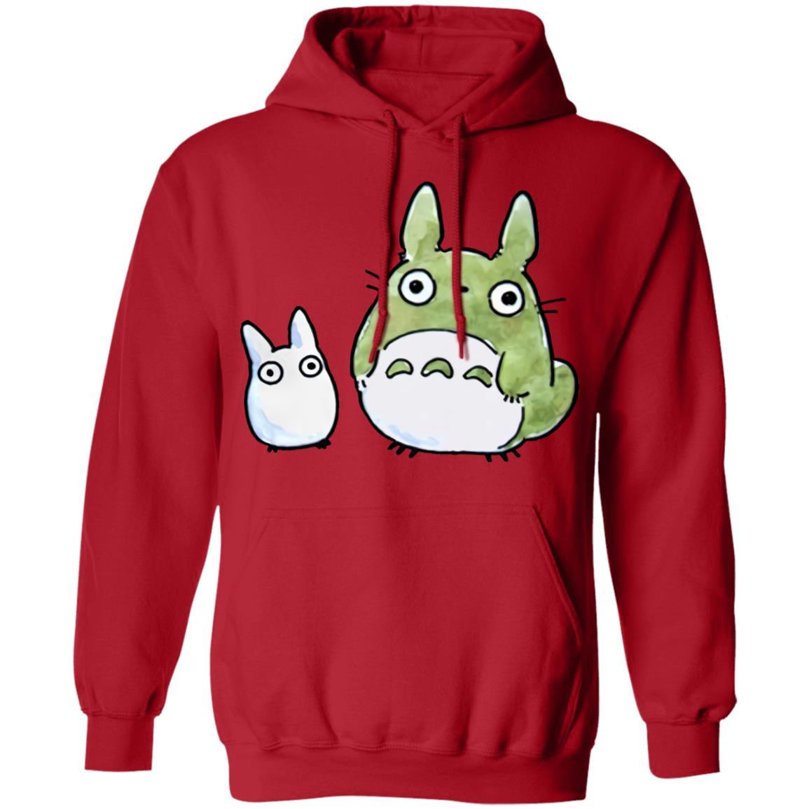 Totoro Family Cute Drawing Hoodie