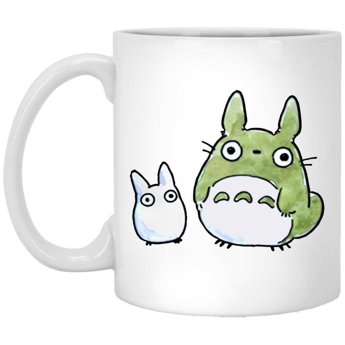 Totoro Family Cute Drawing Mug