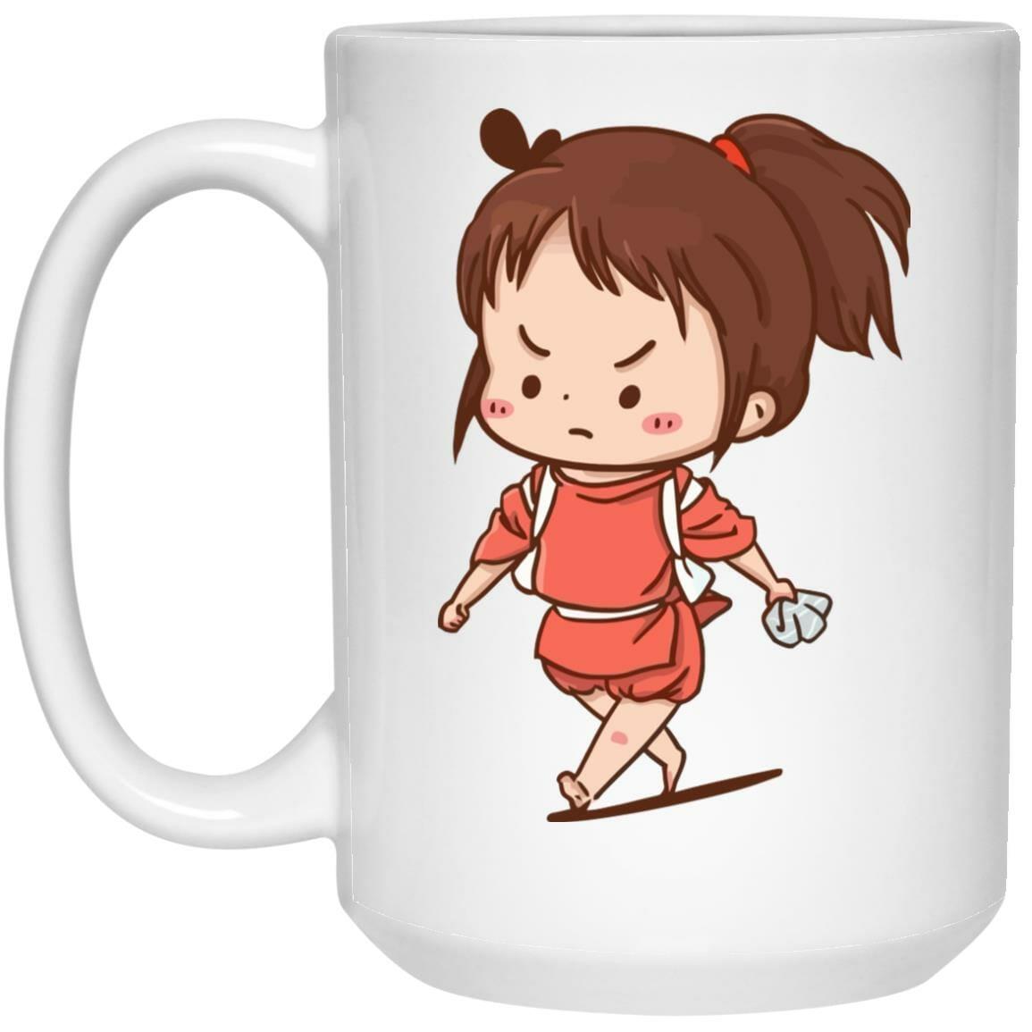 Spirited Away Chihiro Chibi Mug