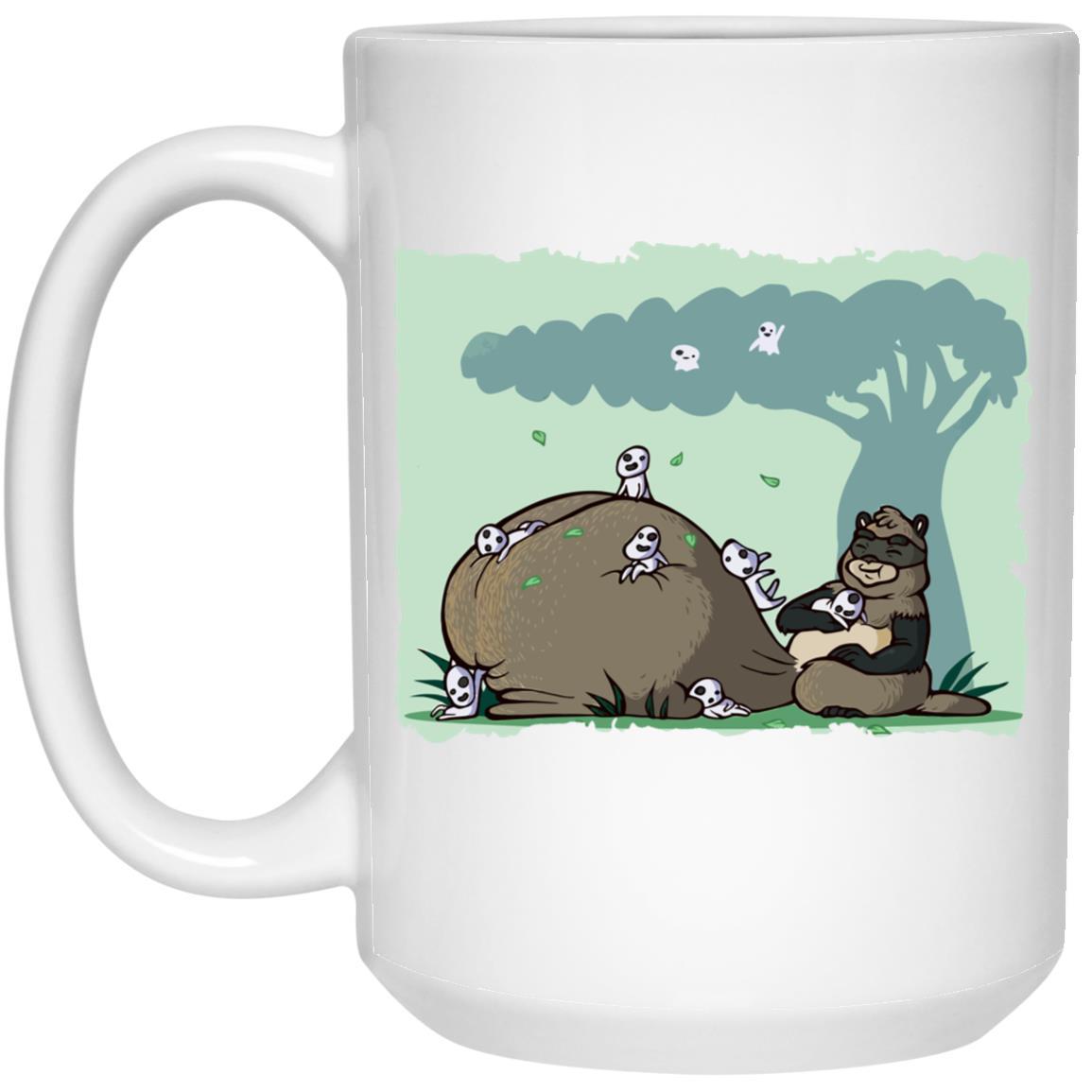Pom Poko and the Tree Spirits Mug