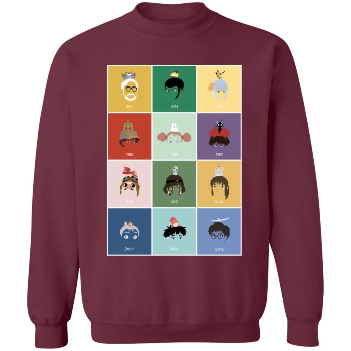 Ghibli Movie Collection Sweatshirt