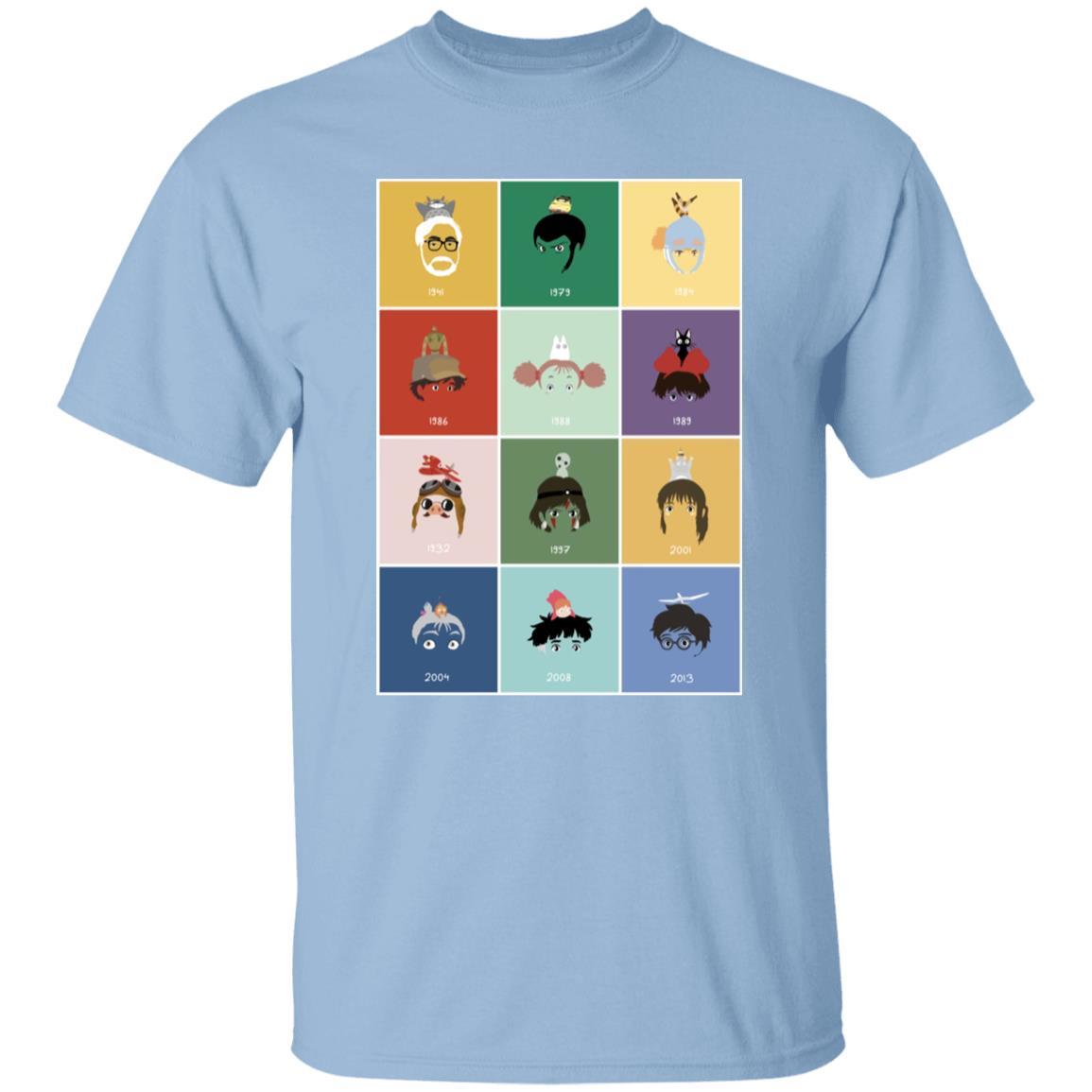 Ghibli Movie Collection T Shirt