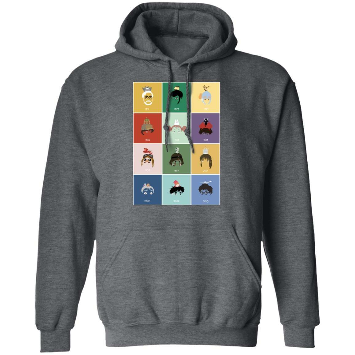 Ghibli Movie Collection Hoodie