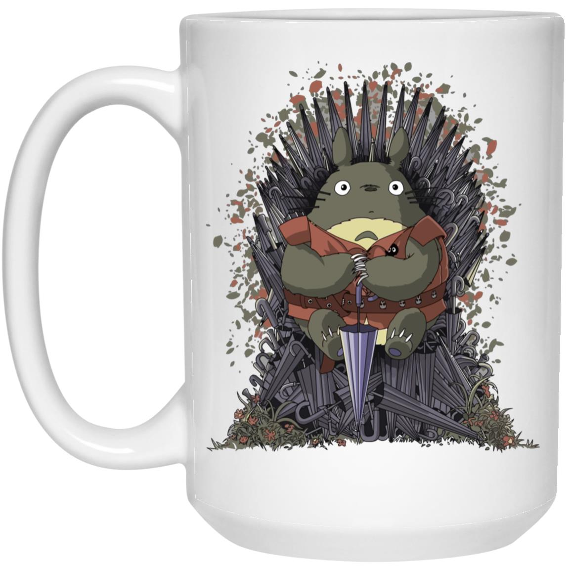 Totoro Game of Thrones Mug