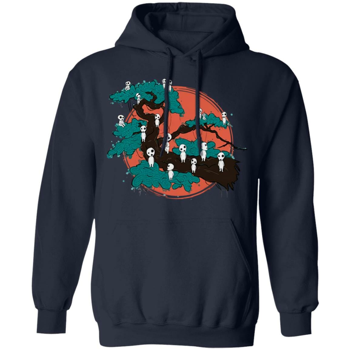 Tree Spirits by the Red Moon Hoodie