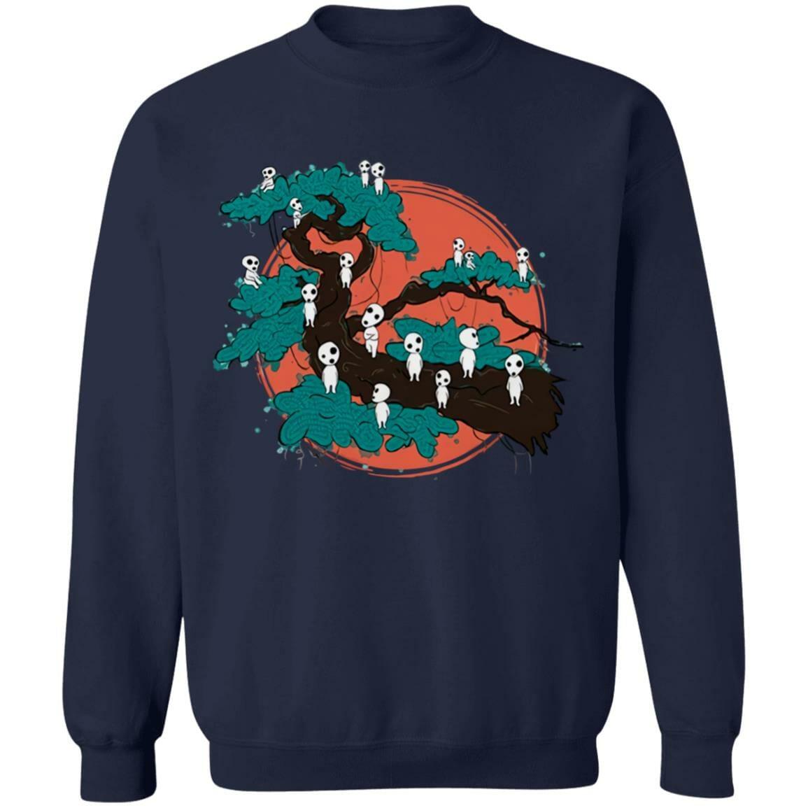Tree Spirits by the Red Moon Sweatshirt