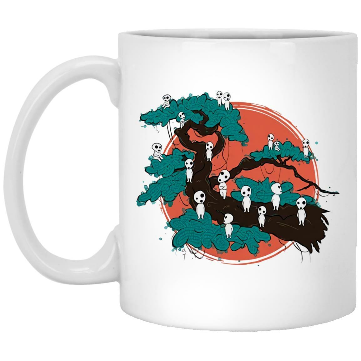 Tree Spirits by the Red Moon Mug