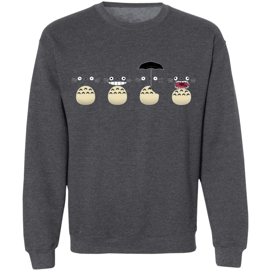 Totoro Faces Sweatshirt