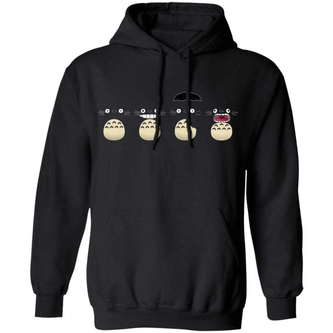 Totoro Faces Hoodie