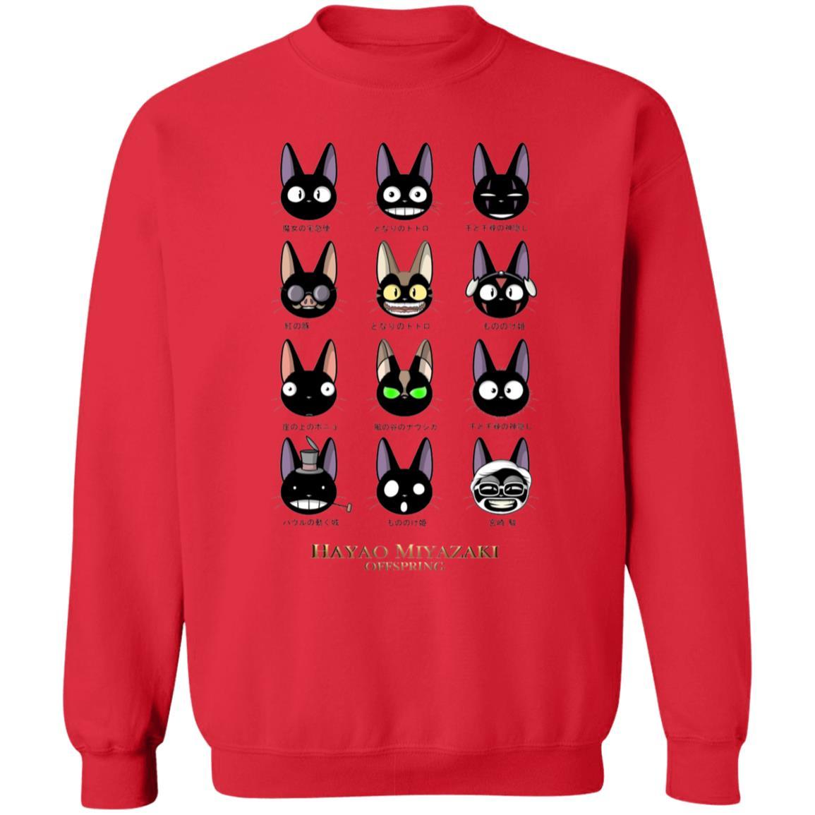 Jiji Hayao Miyazaki Off Spring Sweatshirt
