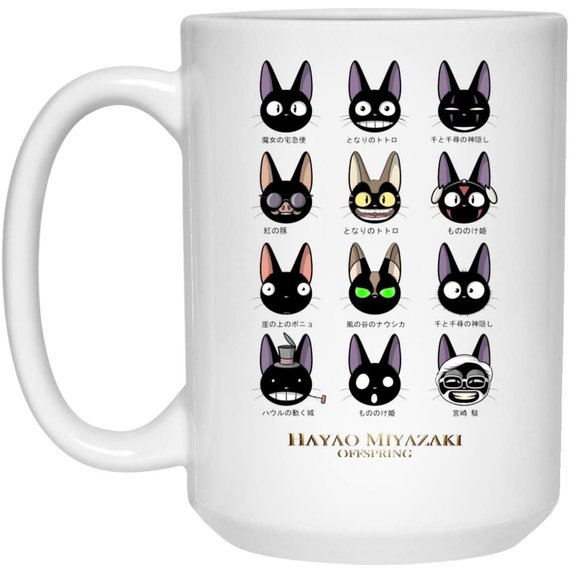 Jiji Hayao Miyazaki Off Spring Mug