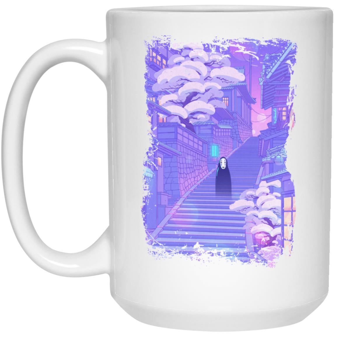 Spirited Away Kaonashi in the Sunset Mug