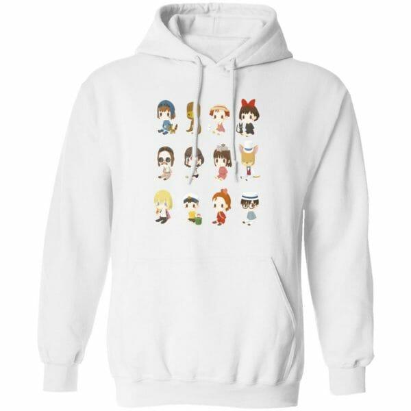 Ghibli Characters Cute Collection Hoodie