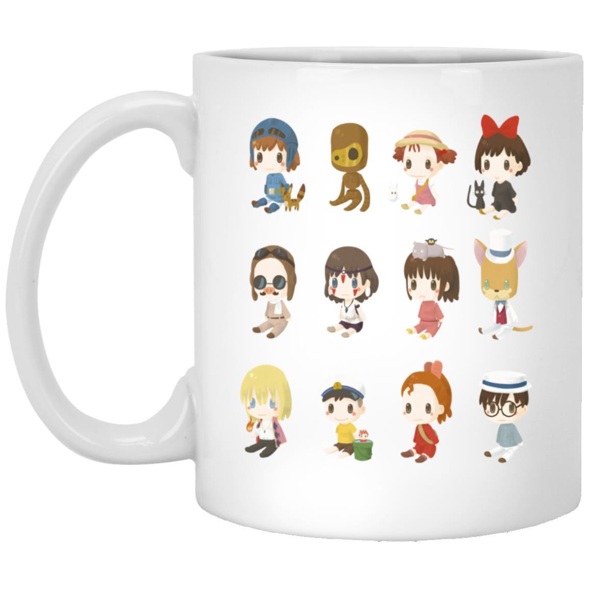 Ghibli Characters Cute Collection Mug