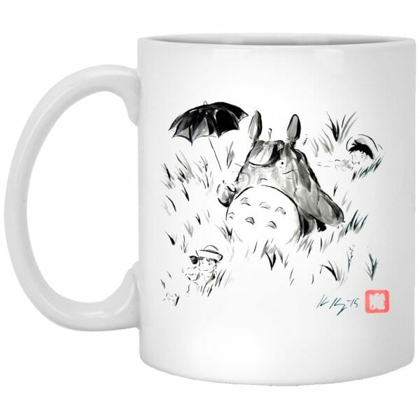 Circle Totoro Mug