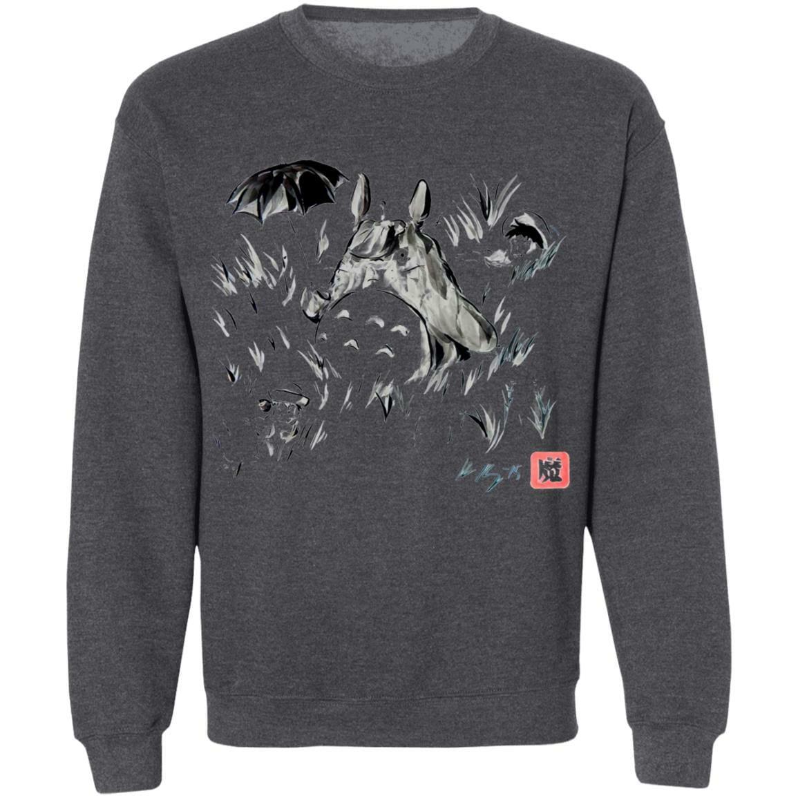 Totoro And The Girls Ink Painting Sweatshirt