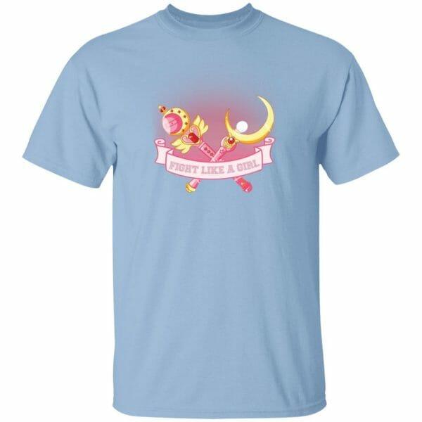 Sailor Moon – Fight like a girl T Shirt