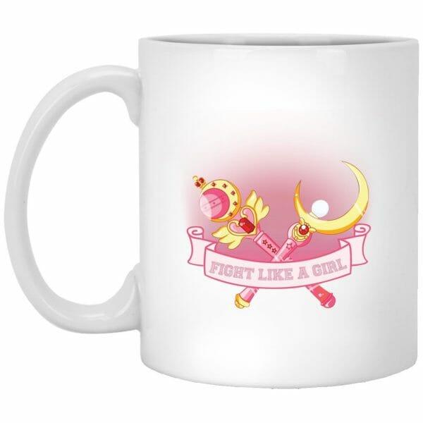 Sailor Moon – Fight like a girl Mug